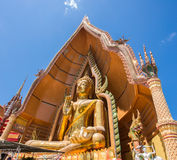 Buddha statue, Wat Tham Sua, Thailand. Buddha statue, Wat Tham Sua, Kanchanaburi, Thailand Stock Images