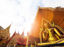 Buddha statue in wat thum sue temple kanchanaburi thailand most Royalty Free Stock Photography