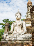 Buddha Statue at Wat Traphang Ngoen, an ancient temple in Sukhothai Historical Park,Thailand Royalty Free Stock Photography