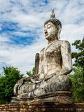 Buddha Statue at Wat Traphang Ngoen, an ancient temple in Sukhothai Historical Park,Thailand Stock Image