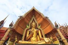Buddha statue wat tum seau kanchanaburi thailand Stock Photography