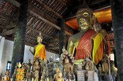 Buddha Statue at Wat Wisunalat Royalty Free Stock Photos