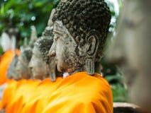Buddha statue in Wat Yai Chai Mongkol Royalty Free Stock Image