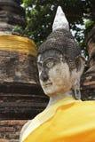 Buddha statue at Wat Yai Chai Mongkol in Thailand Stock Photos