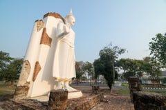 buddha statue white Στοκ φωτογραφία με δικαίωμα ελεύθερης χρήσης