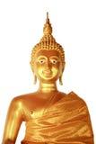 Buddha statue. On white background Stock Image