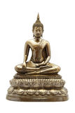 Buddha Statue. On the white background Stock Image