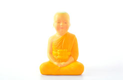 Buddha statue on white background Stock Image