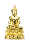 Buddha statue on a white. Royalty Free Stock Image