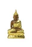 Buddha statue on a white. Stock Image
