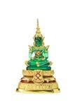 Buddha statue on a white. Stock Photo