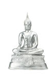 Buddha statue on a white. Stock Images
