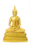Buddha statue on a white. Royalty Free Stock Photography