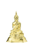 Buddha statue on a white. Royalty Free Stock Photo