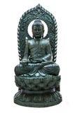 Buddha statue on white isolate Stock Image