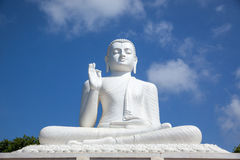 buddha statue white Mihintale, Σρι Λάνκα στοκ εικόνες με δικαίωμα ελεύθερης χρήσης