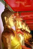 Buddha-Statuen Stockfoto