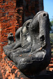 Buddha-Statuen Stockbild