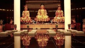 Buddha-Statuen Stockfotografie