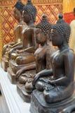 Buddha-Statuen in Thailand stockbilder
