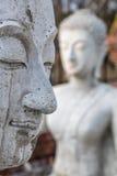 Buddha-Statuengesicht Lizenzfreies Stockbild