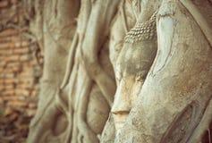 Buddha-Statuenweinlese Lizenzfreie Stockfotos