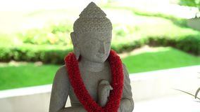 Buddha-Statuenzahl stock video footage