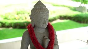 Buddha-Statuenzahl stock footage