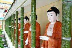 Buddha Statues. At Kek Lok Si Penang royalty free stock photography