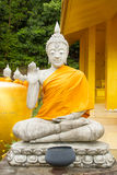 Buddha statues. Buddha statues in the thai temple royalty free stock photos