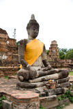 Buddha Statues, Ayutthaya,  Thailand Stock Photo
