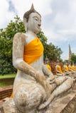 Buddha statues in Ayutthaya,Thailand Stock Images