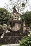 Buddha statues in the buddha park in Vientiane, Laos. stock photography