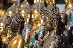 Buddha Statues in Beijing China Stock Photography