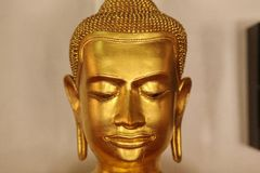 Buddha statues. Buddhas statues and portraits in Asia stock images