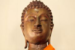 Buddha statues. Buddhas statues and portraits in Asia royalty free stock image