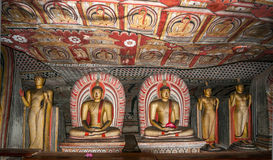 Buddha Statues. In Caves Complex Stock Image