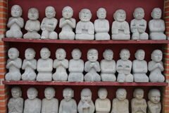 Buddha statues. At Buddha Eden Park in Portugal Stock Image