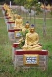 Buddha statues garden, Myanmar Royalty Free Stock Photo