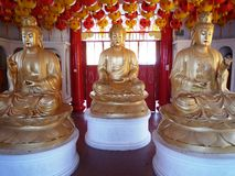 Buddha statues at Kek Lok Si Buddhist Temple Stock Images