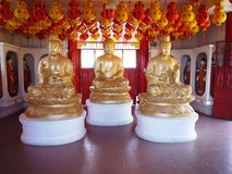 Buddha statues at Kek Lok Si Buddhist Temple Royalty Free Stock Images