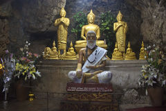 Buddha statues in Luang Prabang Royalty Free Stock Image