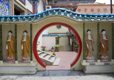 Buddha Statues,Penang, Malaysia Royalty Free Stock Photo