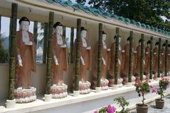 Buddha Statues,  Penang, Malaysia Stock Photo