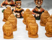 Buddha statues on sale Royalty Free Stock Photography