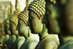 Buddha Statues, Sima Malaka Island, Colombo royalty free stock photos