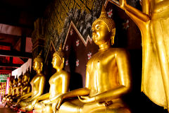 The Buddha statues Stock Image