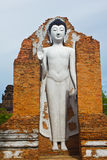 Buddha statues at the temple Royalty Free Stock Images