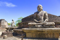 Buddha Statues at Vatadage, Sri Lanka Royalty Free Stock Image