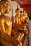 Wat Pho Buddhas Stock Photos